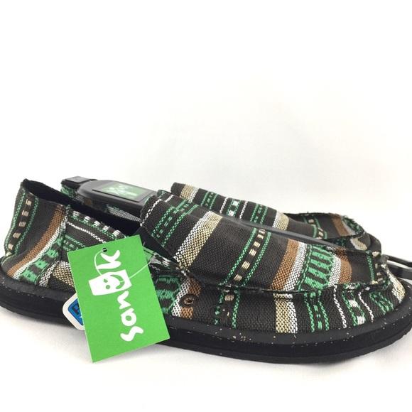 fc17d53bc2 Sanuk Vagabond Funk Mens Casual Shoes Loafers